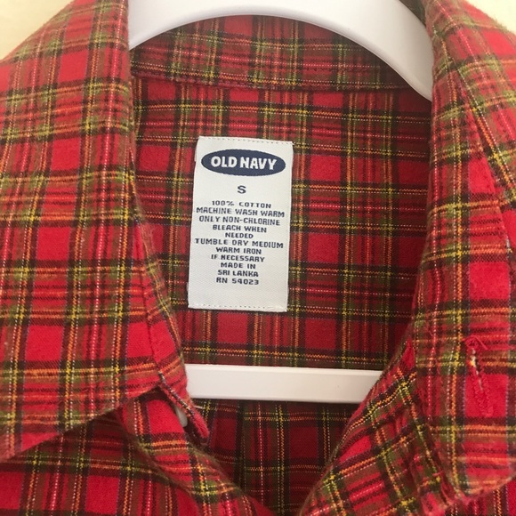 Old Navy Other - ⚡️⚡️ SALE Old Navy Plaid Flannel Shirt